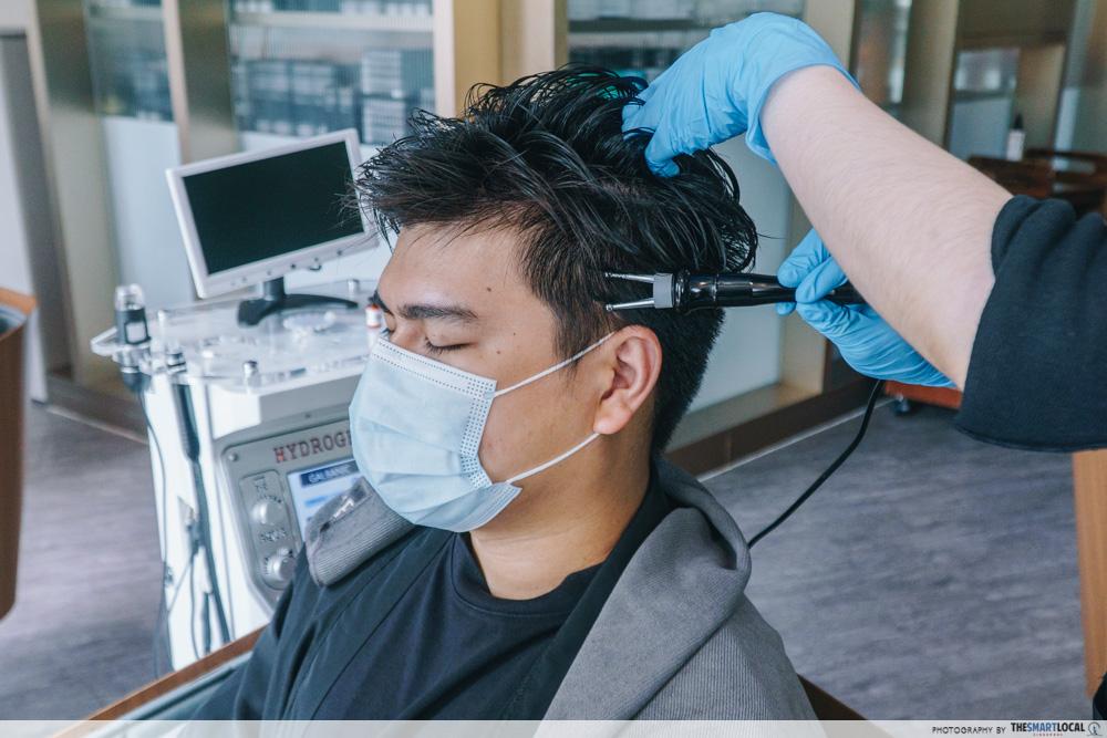 PHS Hairscience dandruff treatment galvanic current