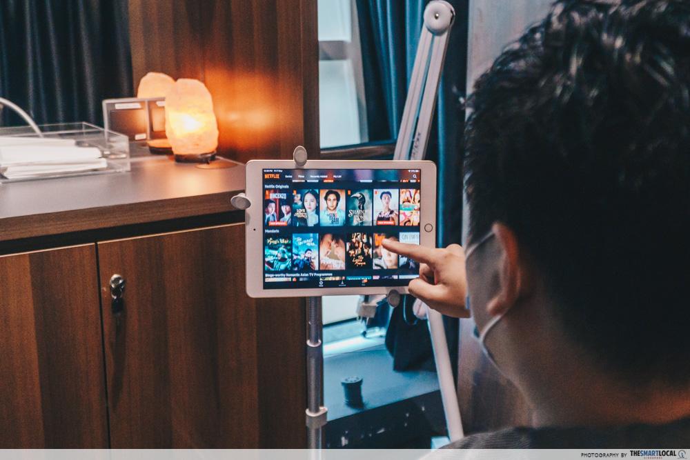 PHS Hairscience VIP room Netflix