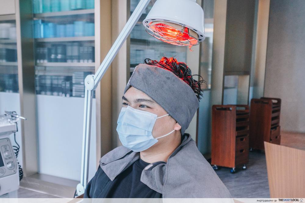 PHS Hairscience dandruff treatment - infrared lamp