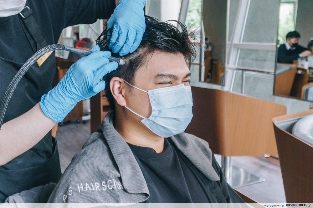 PHS Hairscience dandruff treatment - hydrogen spray