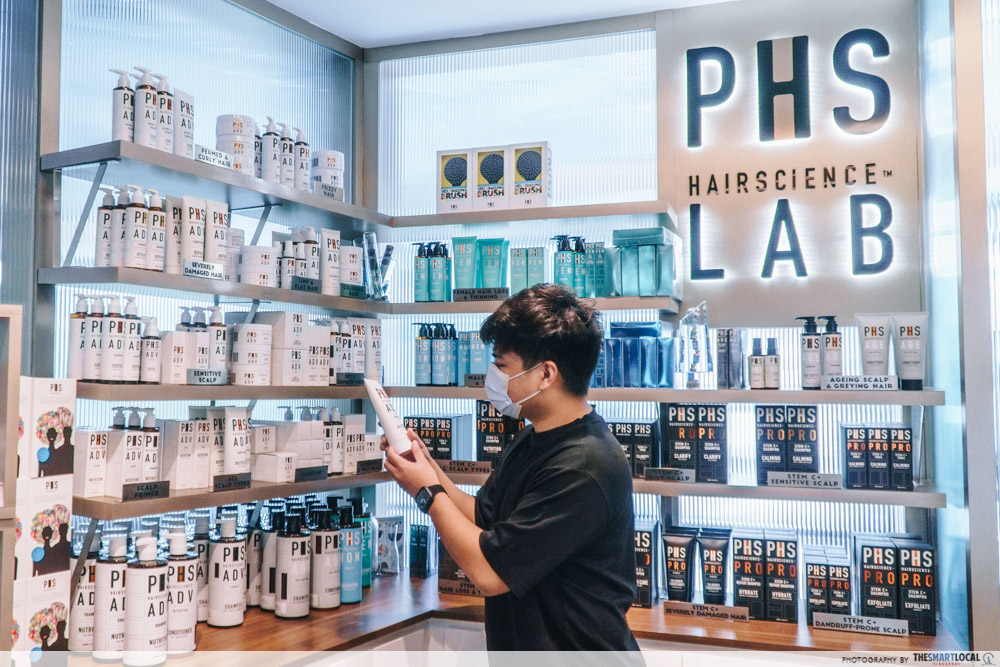 PHS Hairscience products