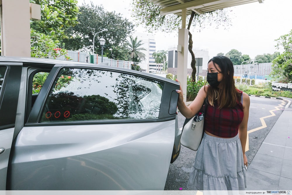Taxi Private Hire Car Ride Sharing Singapore