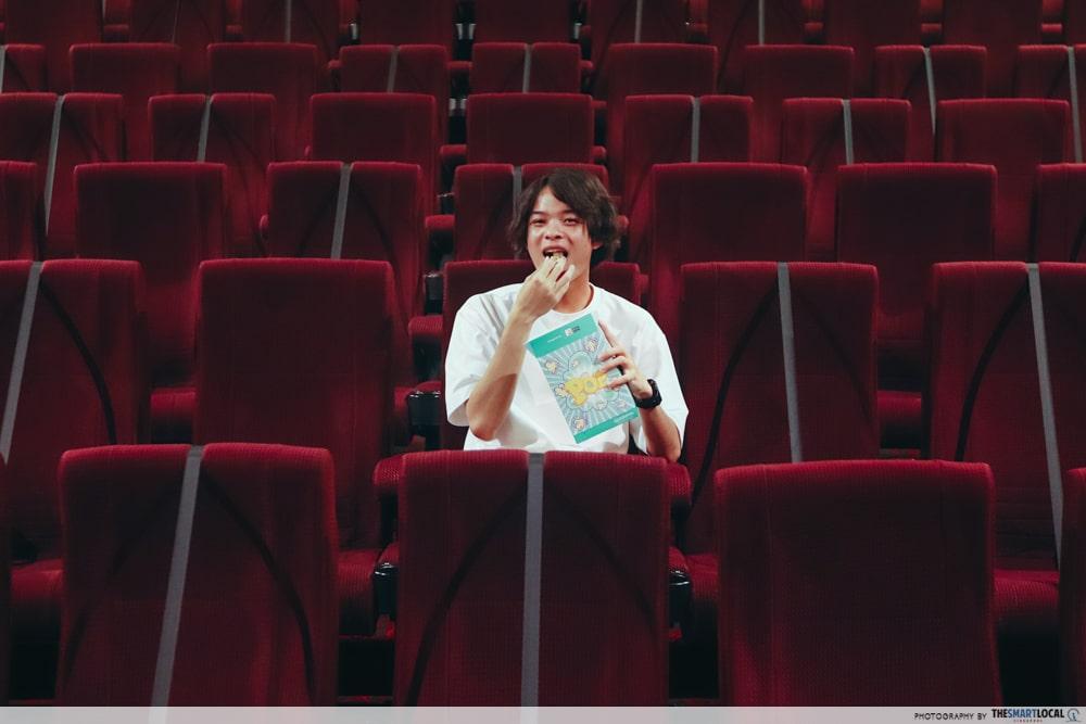 Cinema eating drinking - Phase 2 Heightened Alert