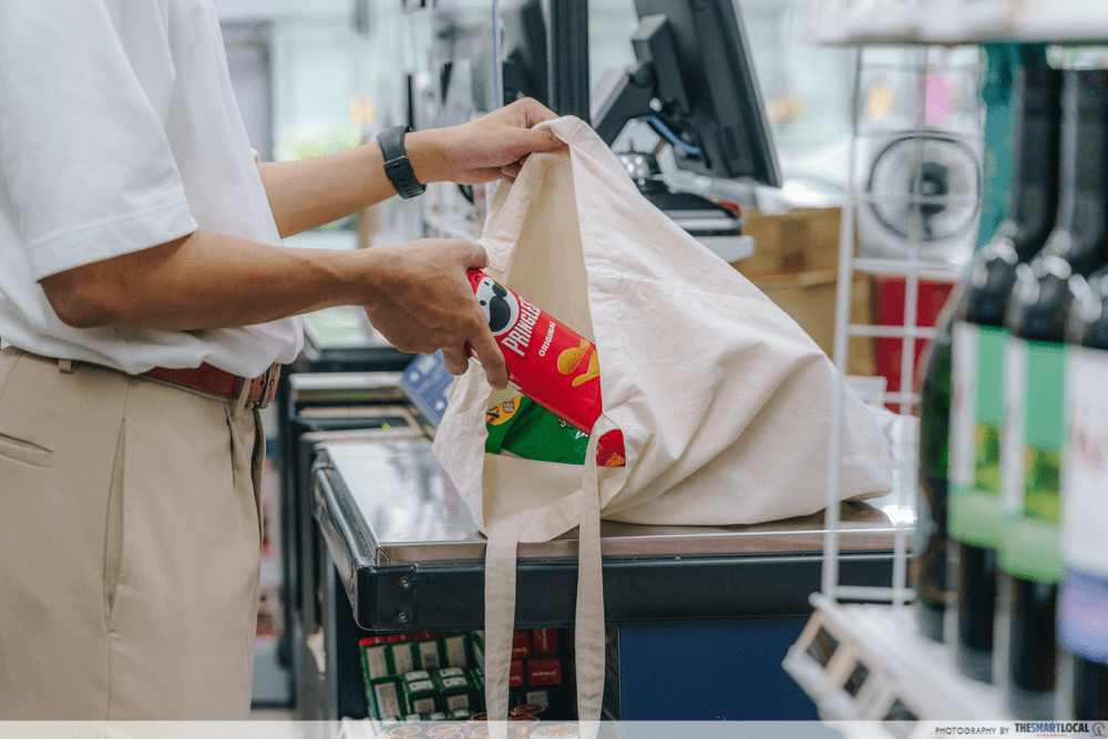 Buying Groceries in Singapore
