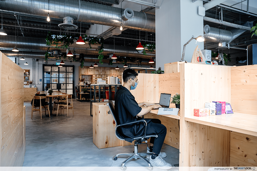 Working In Office With Mask Singapore