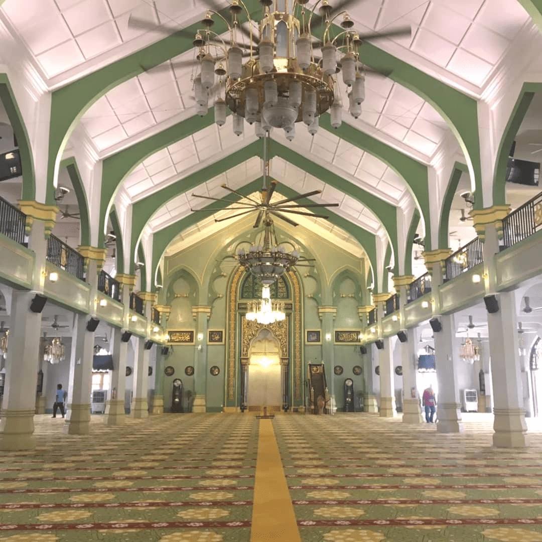 Sultan Mosque - Prayer Room