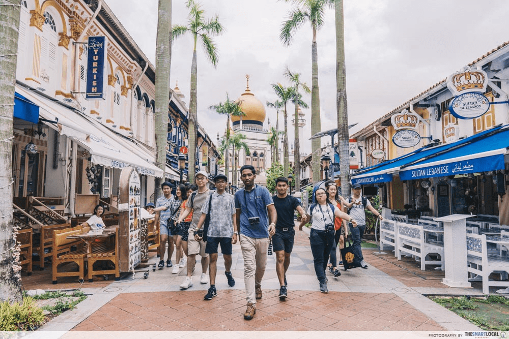 Sultan Mosque - Entering Kampong Glam