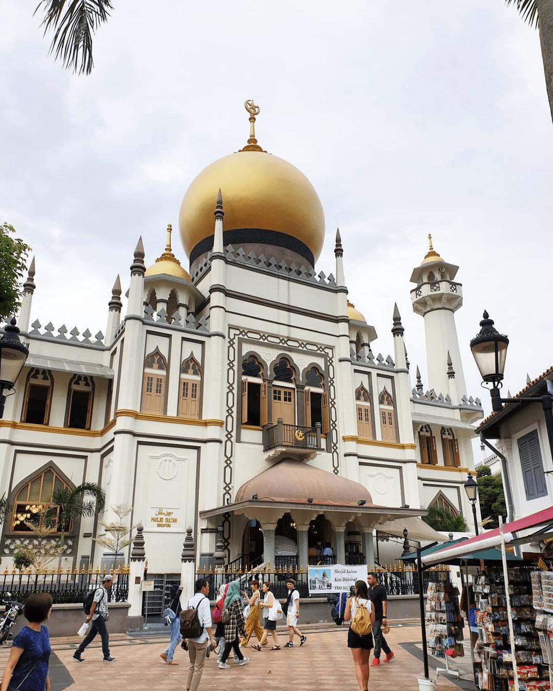 Sultan Mosque - Today