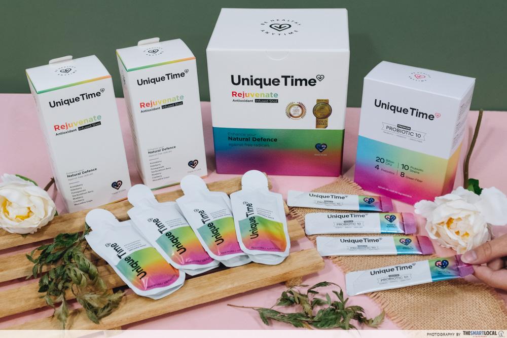 Unique Time Products