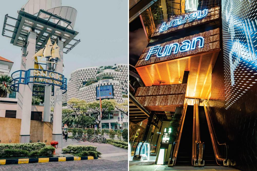 Bugis Junction Funan Singapore