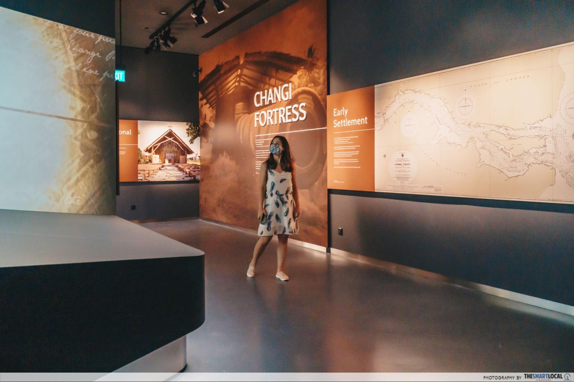 Changi Chapel and museum exhibit