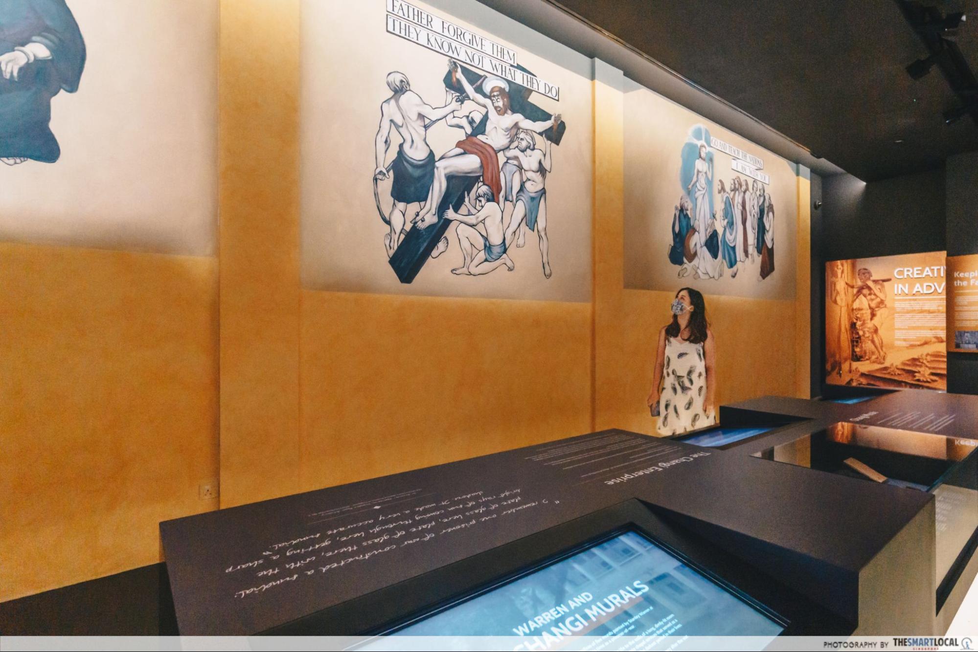Changi Chapel and museum replica murals