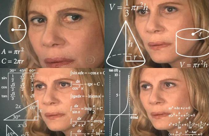 confused woman meme