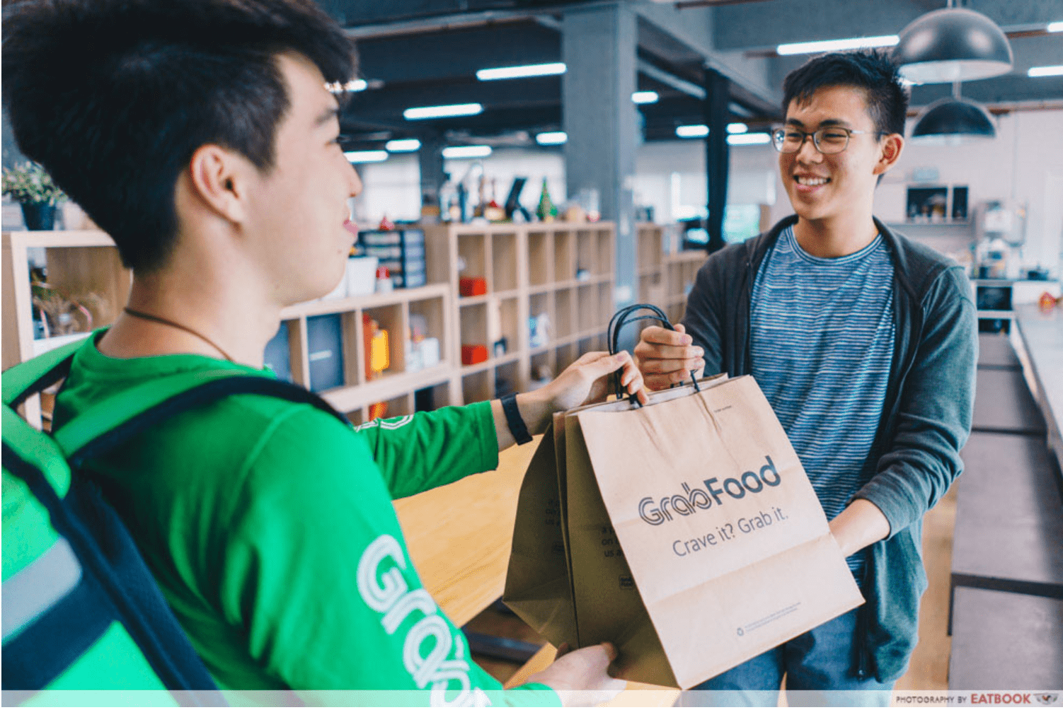 food delivery promo codes - Tea-time free delivery - grabfood
