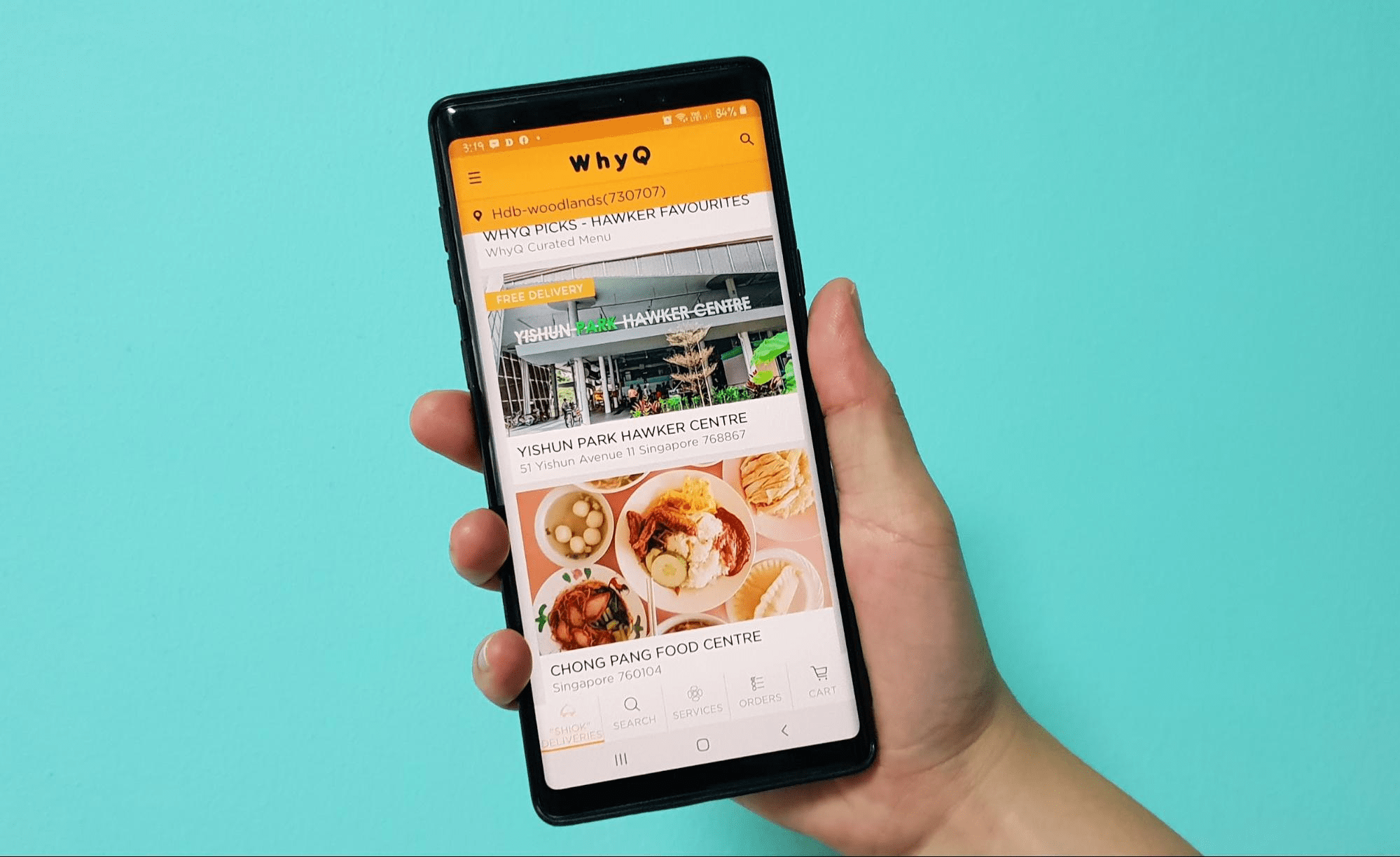 food delivery promo codes - whyQ - free delivery