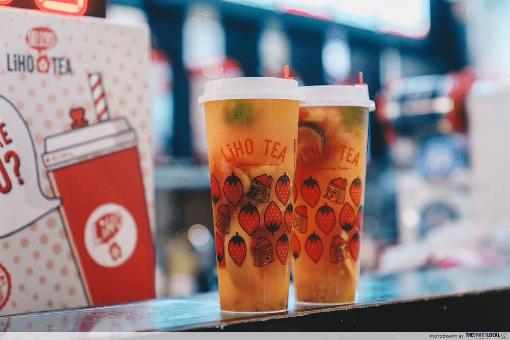 food delivery promo codes - foodpanda - liho - bubble tea
