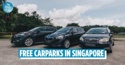 free parking in singapore