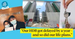HDB BTO delay singapore