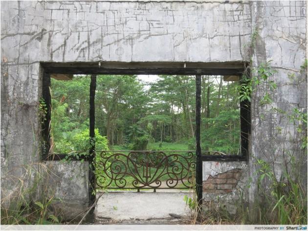 Istana Woodneuk window