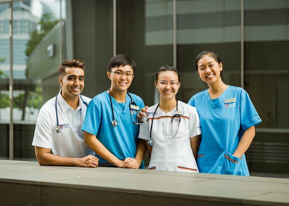 comparison of university courses - NUS Yong Loo Lin School of Medicine