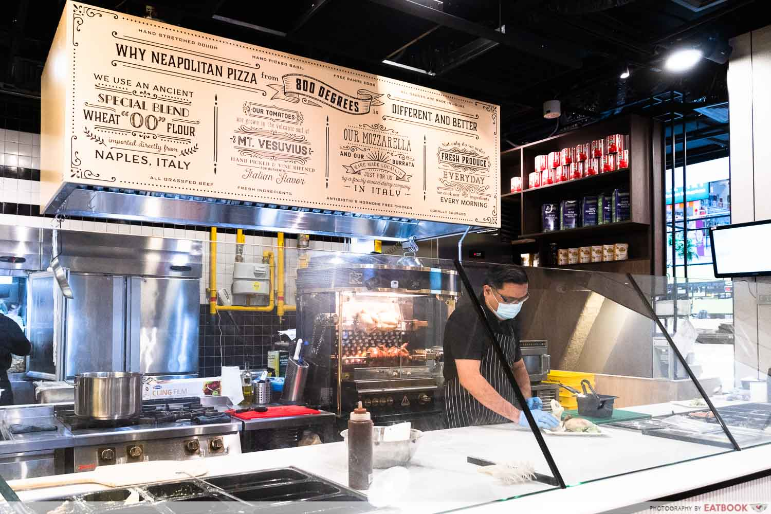 New cafes and restaurants in May 2021 - 800° Woodfired Kitchen