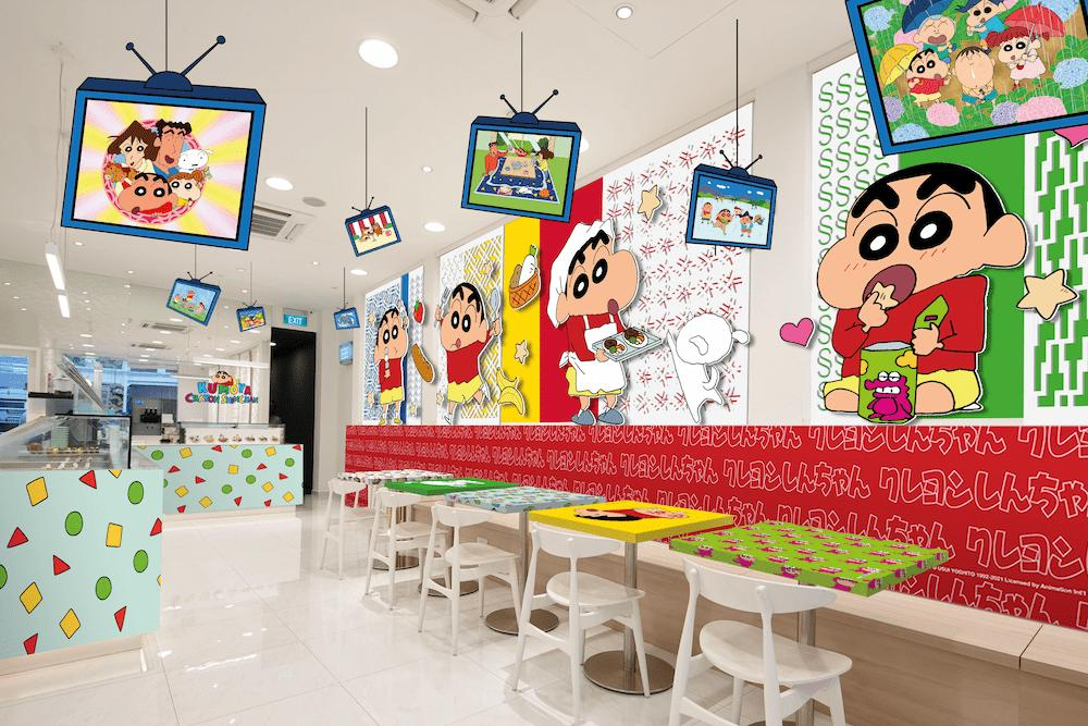 New cafes and restaurants in May 2021 - Crayon Shinchan Cafe