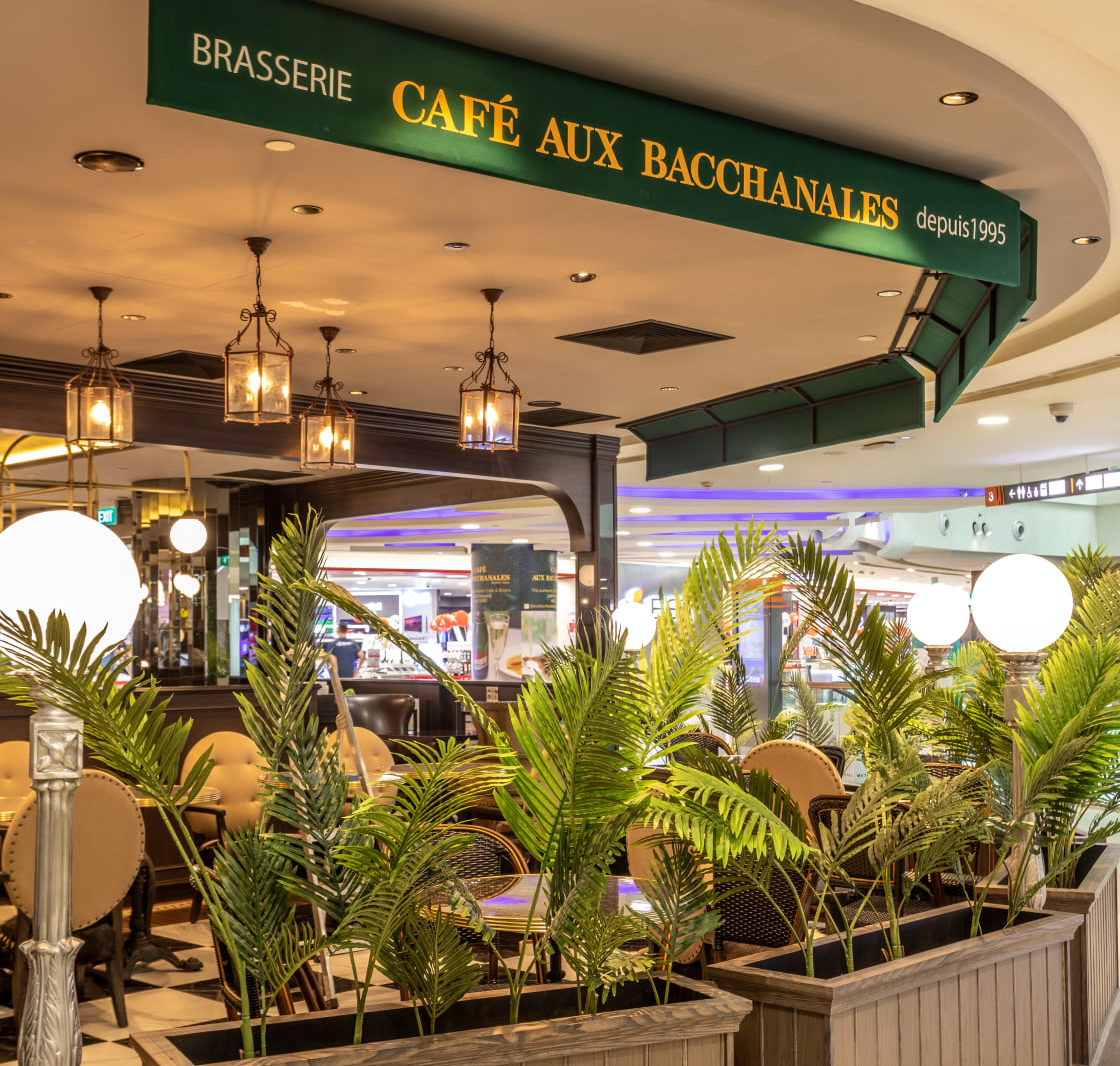 New cafes and restaurants in May 2021 - Cafe Aux Bacchanales