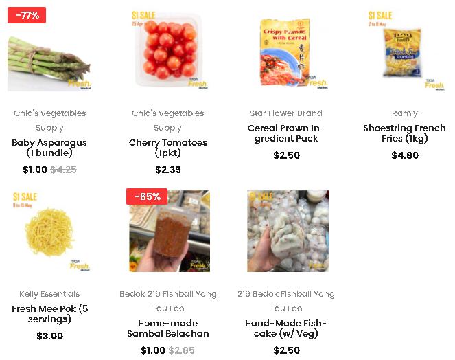 Tada Fresh Market Online Wet Market