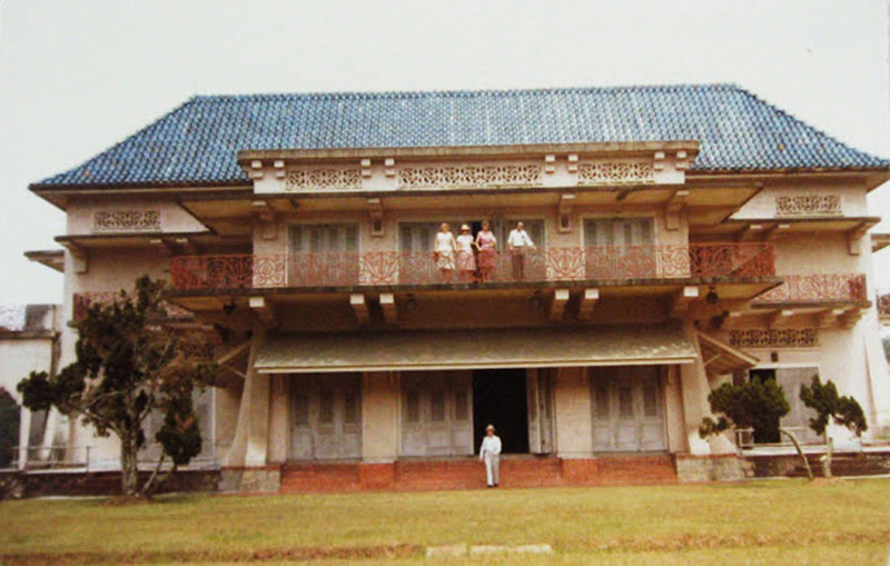 Istana Woodneuk during the 1940s