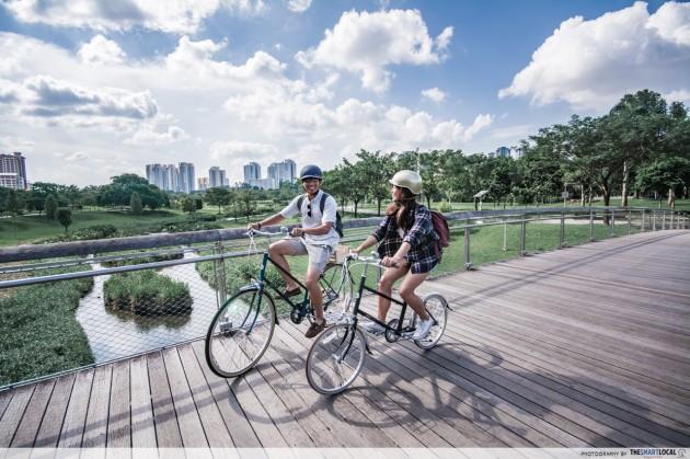 Long-distance cycling routes - Coast-to-Coast Trail - bishan ang mo kio park