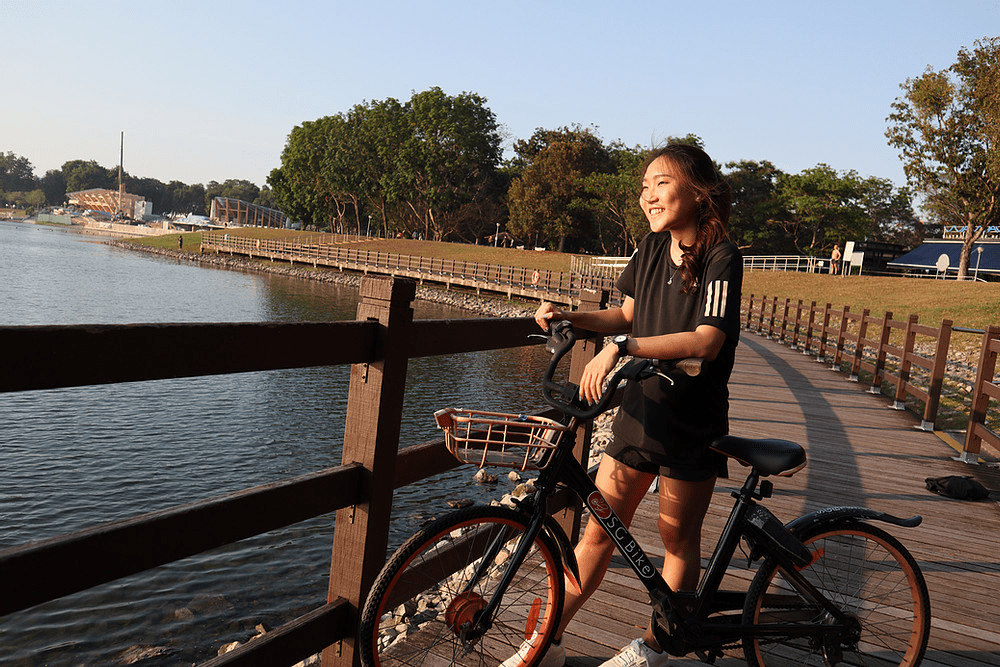 Long-distance cycling routes - bedok reservoir