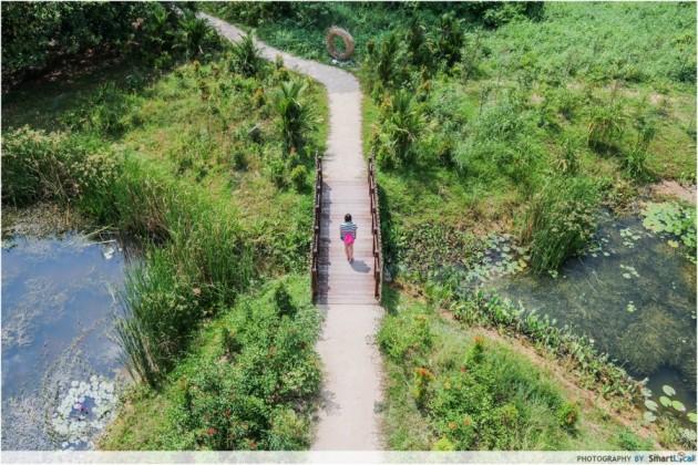 most ulu places singapore - Kranji Marshes