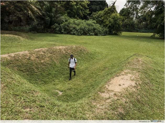 most ulu places singapore - Sembawang's Malta Crescent Bunkers