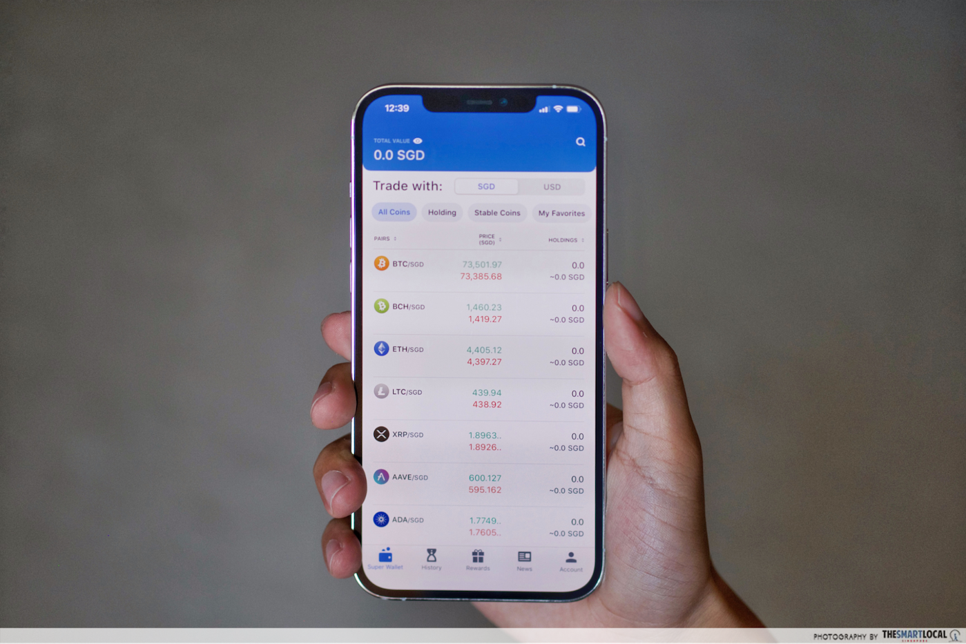 myths about cryptocurrency singapore - coinhako app