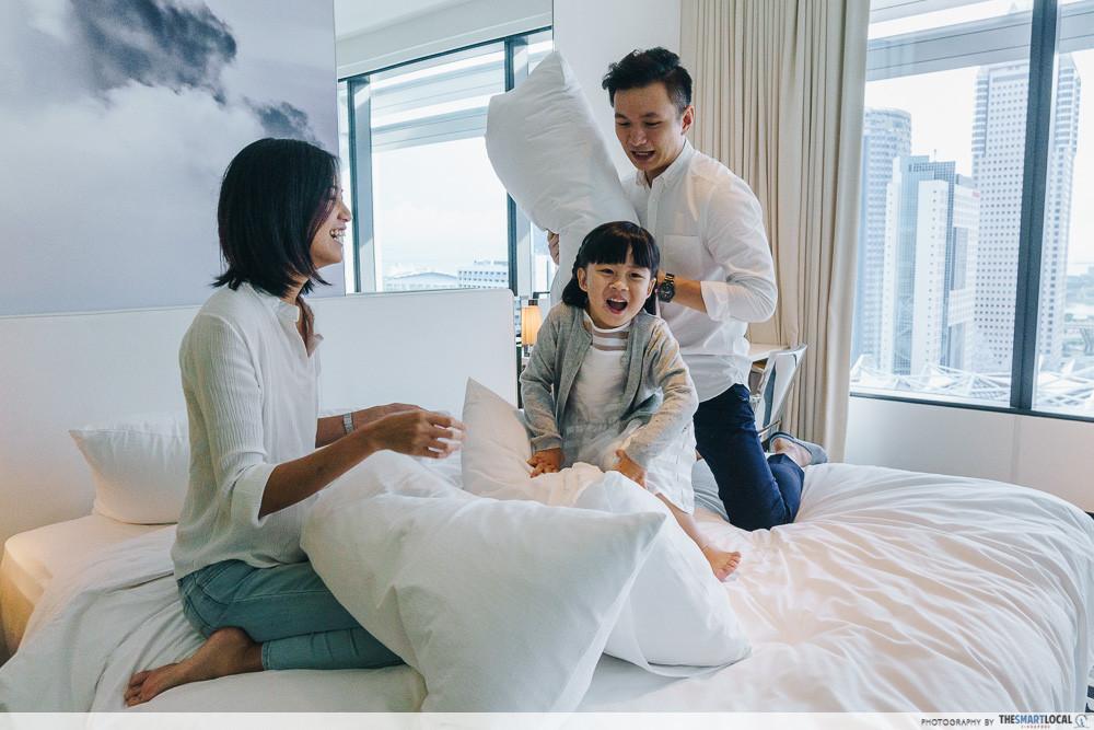 hotel staycay family