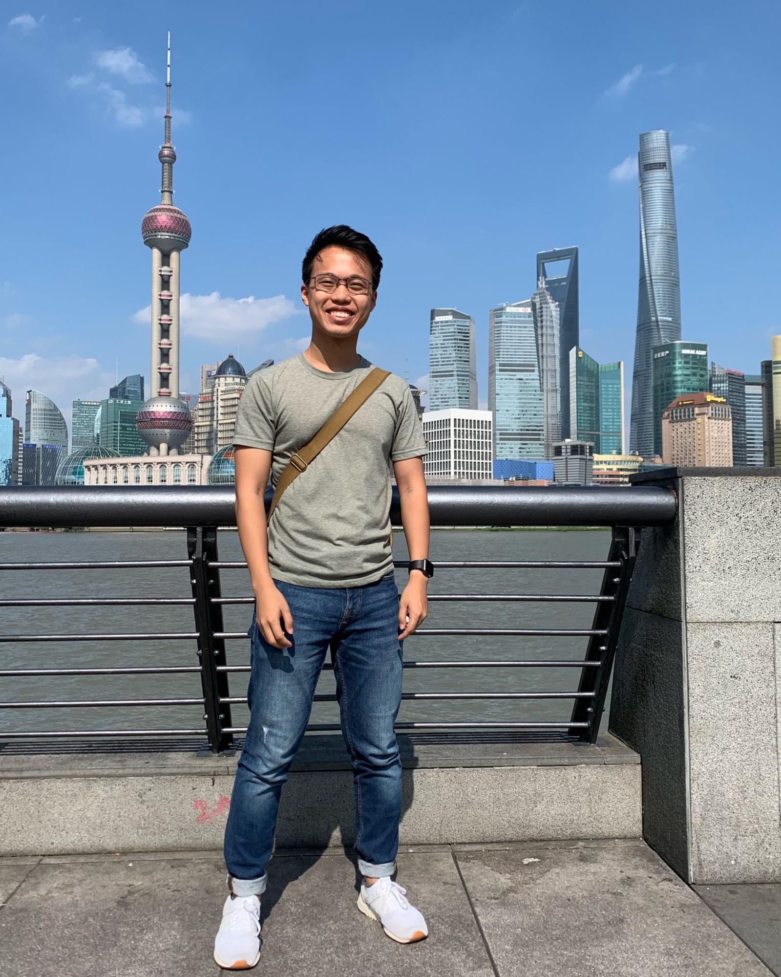 singapore chinese heritage - travelling for work to Shanghai