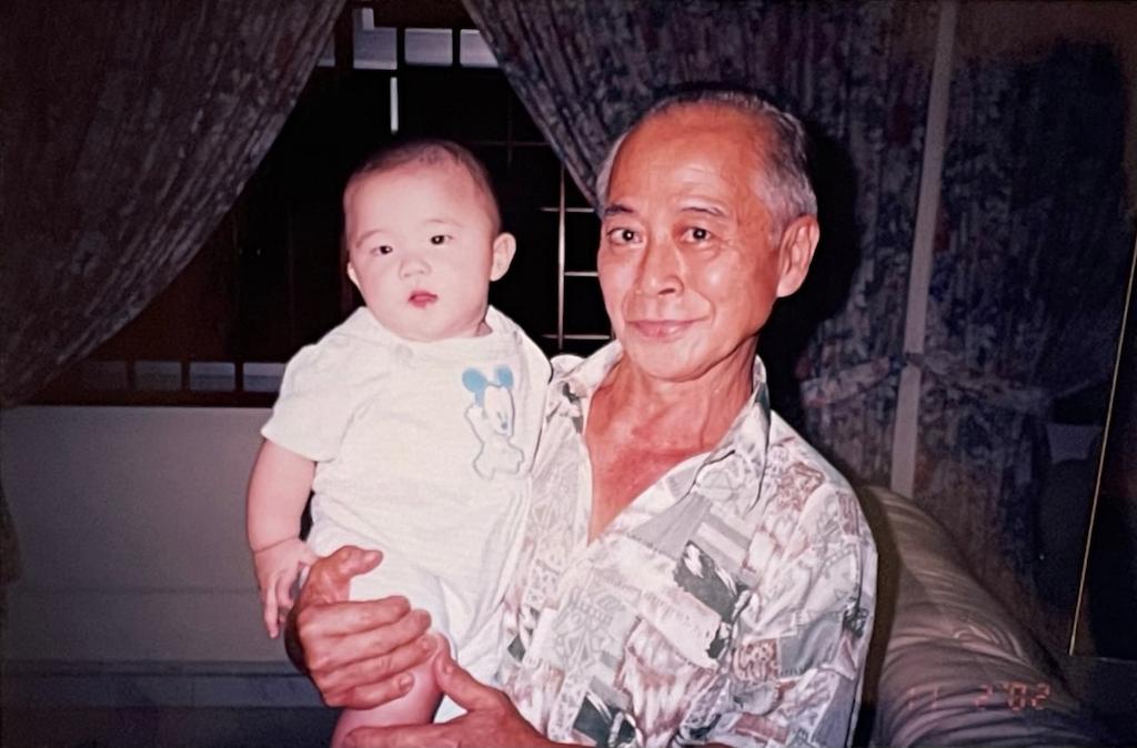 singapore chinese heritage - ian's peranakan grandpa