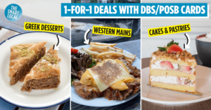 1-for-1 dining deals DBS