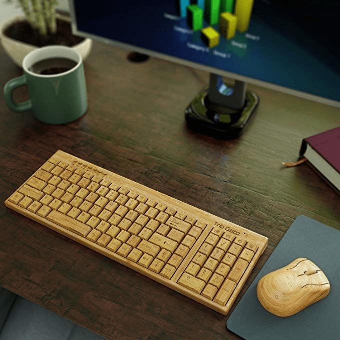 Aesthetic Bluetooth Mechanical Keyboard - Trio gato