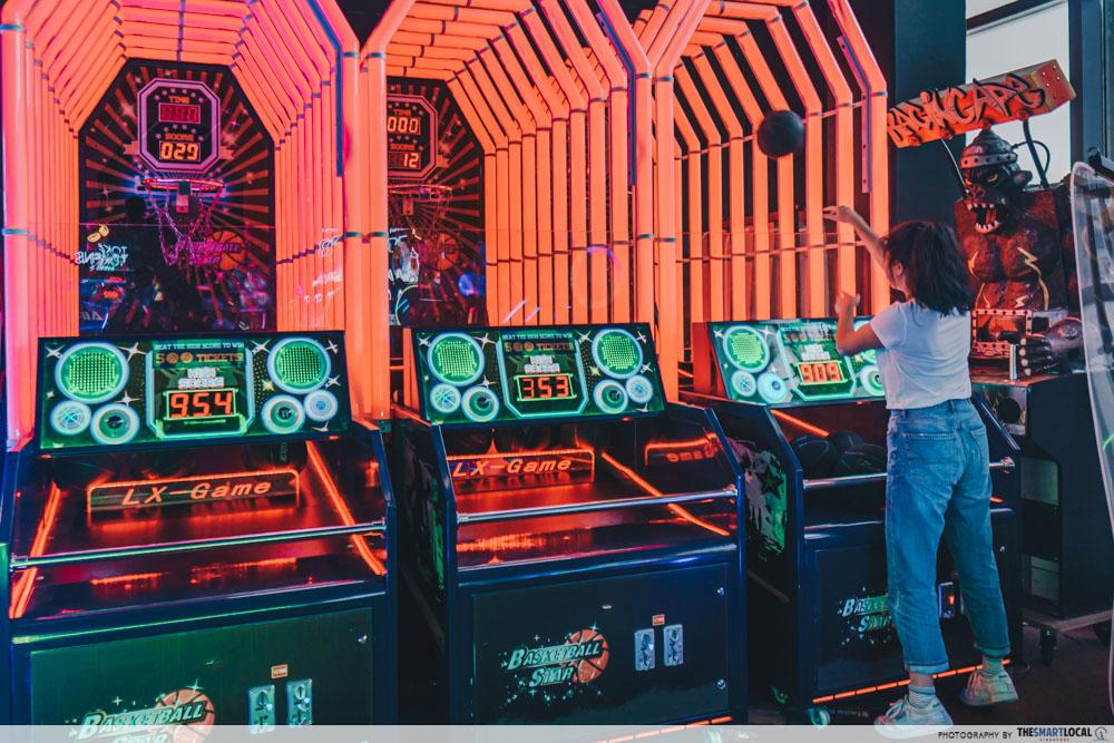 Arcade Hacks - Basketball