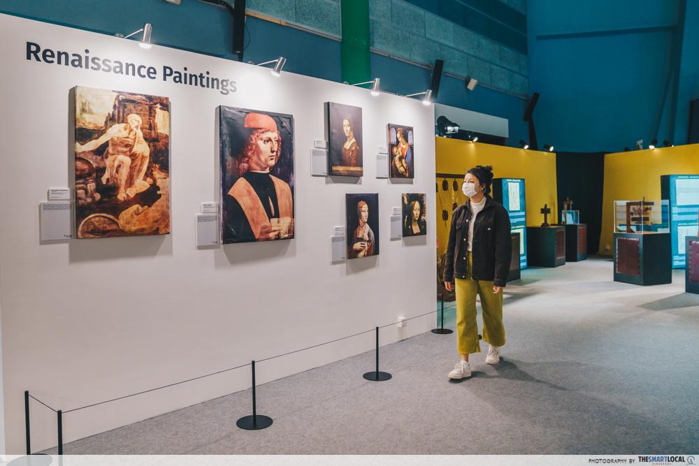 Da Vinci, The Exhibition - Renaissance Paintings