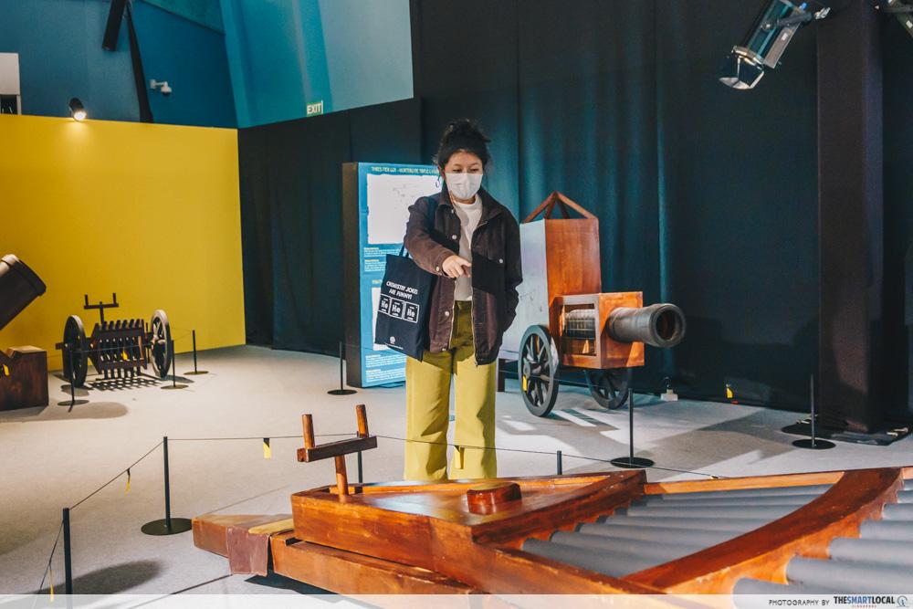 Da Vinci, The Exhibition - Military