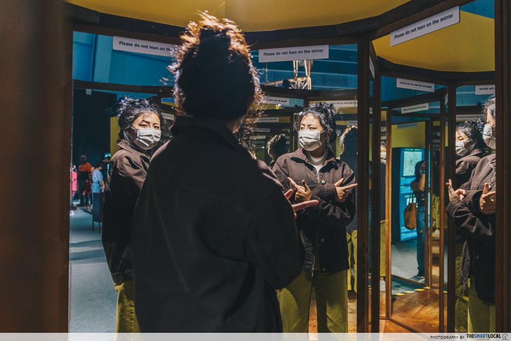 Da Vinci, The Exhibition - Room Of Mirrors