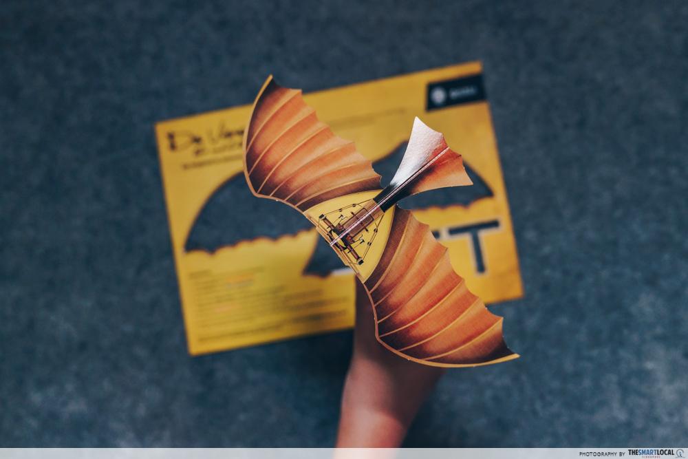 Da Vinci, The Exhibition - Gliders