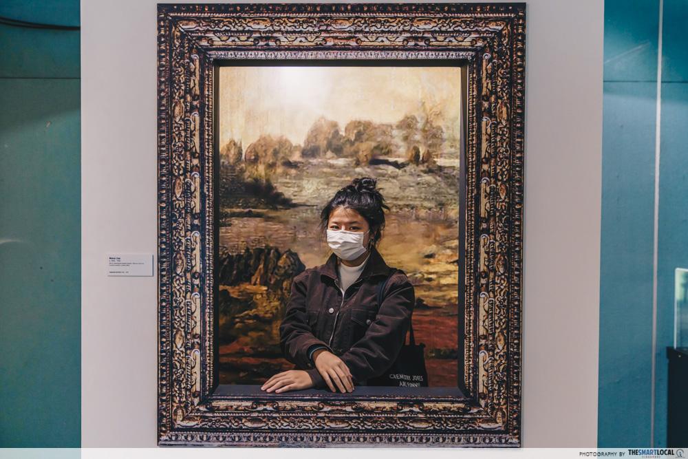 Da Vinci, The Exhibition - Mona Lisa Photo