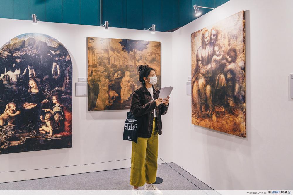 Da Vinci, The Exhibition - Paintings