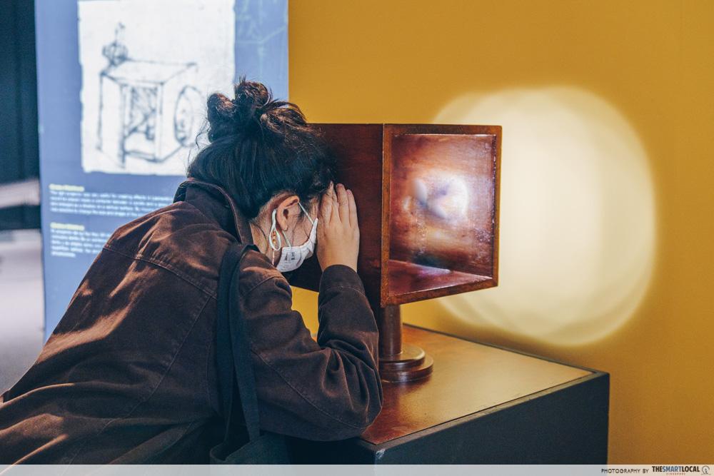 Da Vinci, The Exhibition - Light Projector