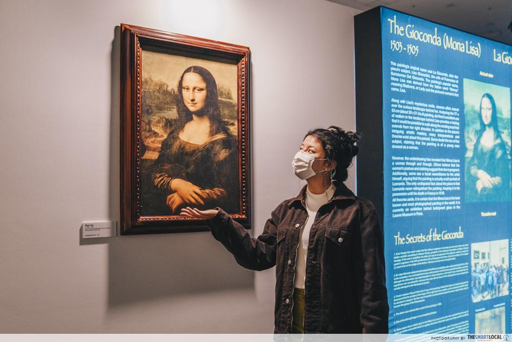 Da Vinci, The Exhibition - Mona Lisa