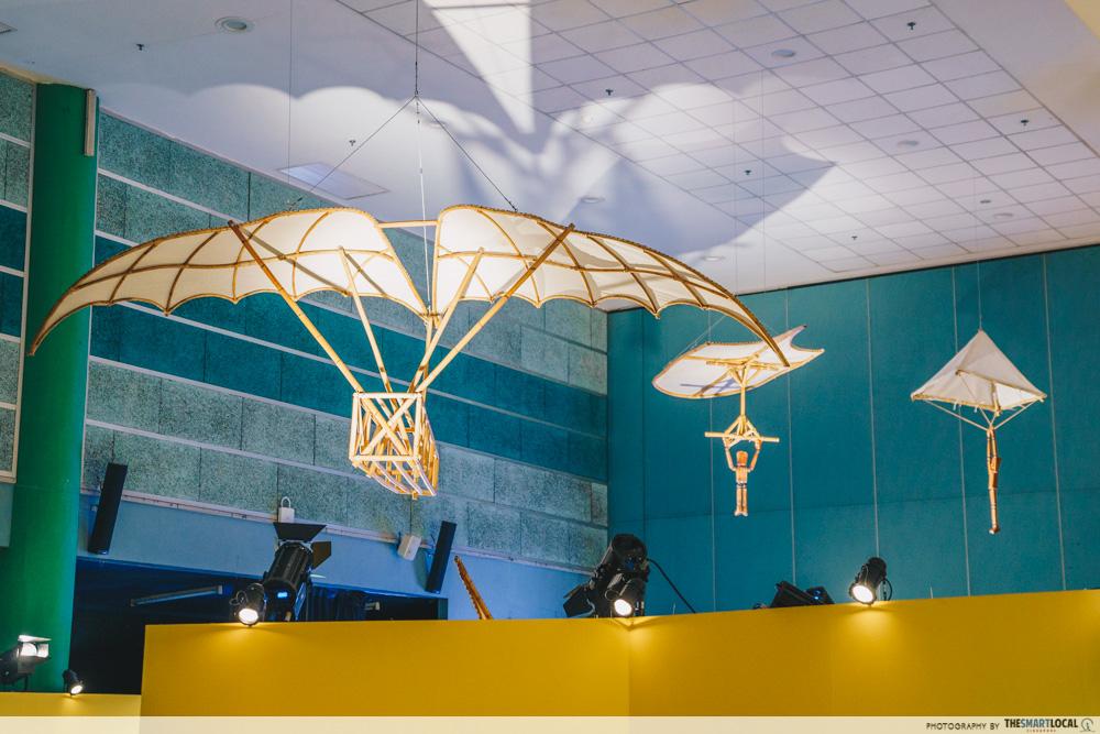 Da Vinci, The Exhibition - Flight
