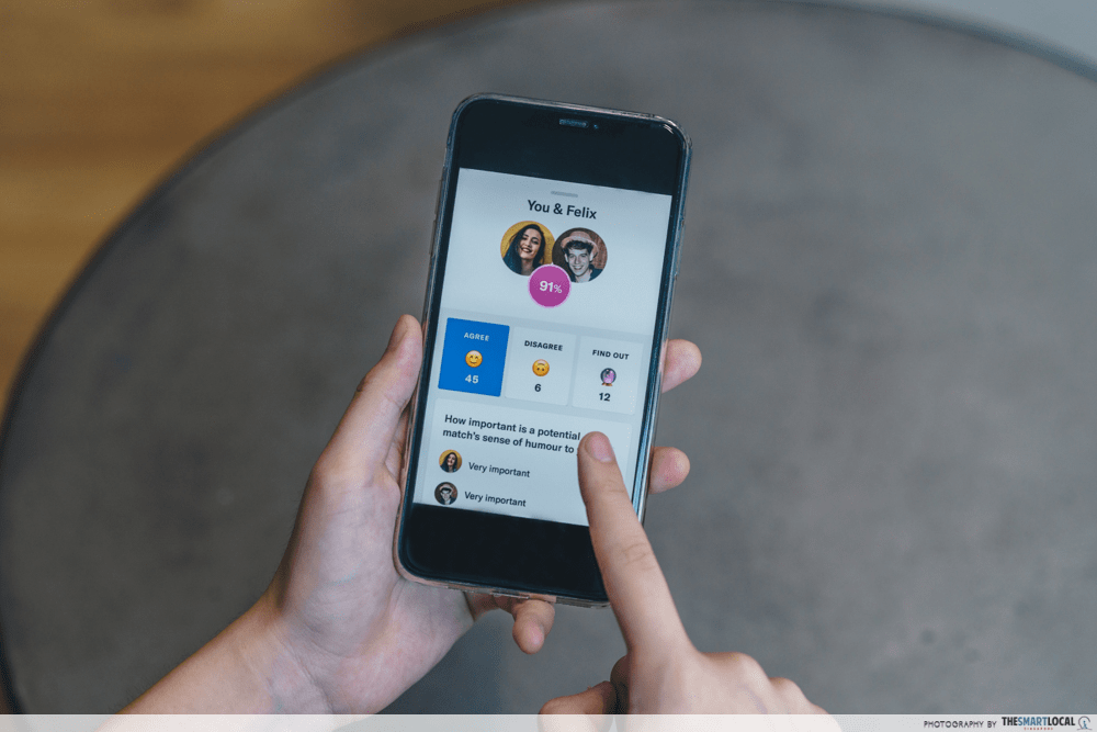 OkCupid Singapore Dating App